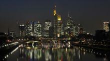 Frankfurt stock market squares off against London