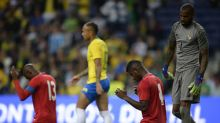 International friendlies: Brazil denied victory by determined Panama as injured talisman Neymar watches from stands