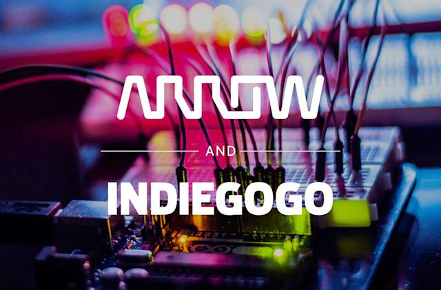 Indiegogo deal helps crowdfunders make their gadgets
