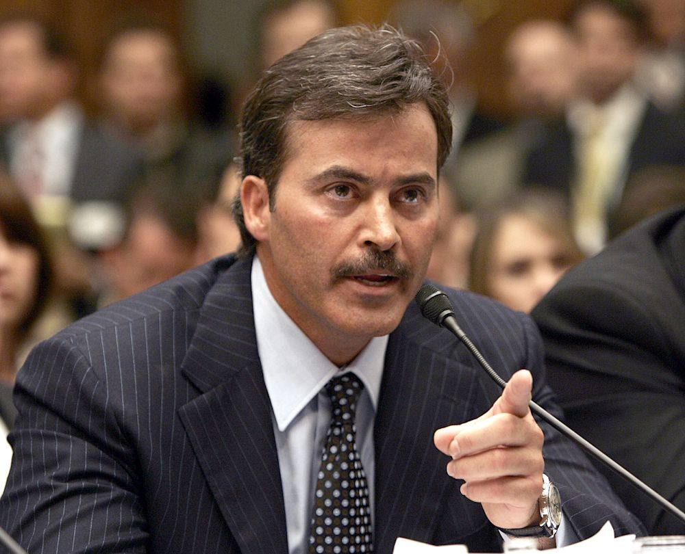 Rafael Palmeiro, 53, is trying to make an MLB comeback but teams aren't biting yet. (AP)