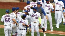New Mets' DH Cespedes makes history on opening day