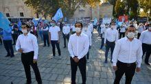 Turquie: manifestation contre le traitement des Ouïghours en Chine