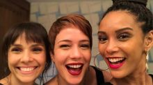Inseparáveis! Taís Araújo celebra amizade com colegas de Globo