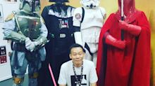 Singaporean sells Star Wars collection to keep late wife's belongings