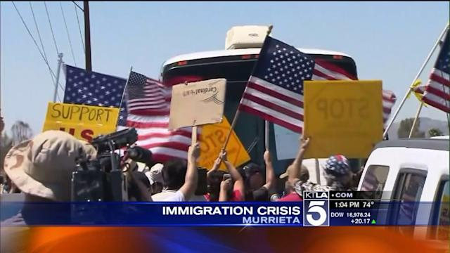 After Murrieta Protests, Undocumented Immigrants Dispersed to 7 San Diego County Facilities