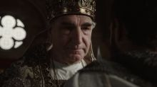'Knightfall' sneak peek: Jim Carter claims 'pope's privilege'