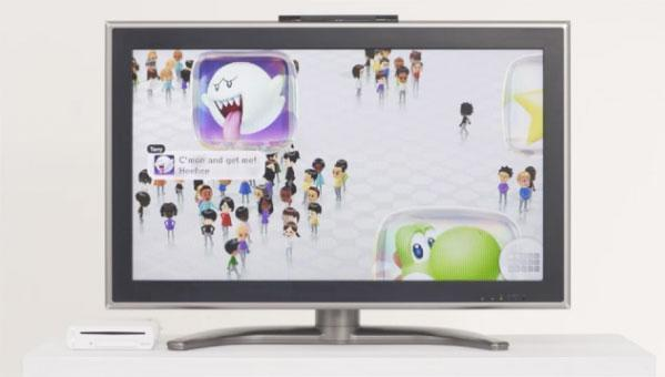 Wii U's Miiverse, Chat, TVii, and eShop features will arrive in a day-one software update