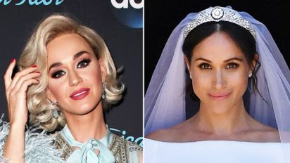 Katy Perry slams Meghan Markle's wedding dress