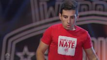 Inspiring 'American Ninja Warrior' contestant overcomes physical disadvantage to dominate course
