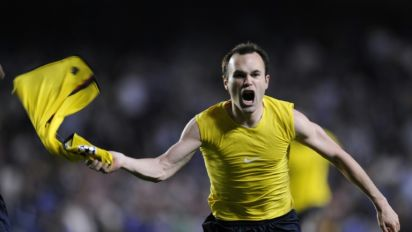 Iniesta savours Barcelona's Stamford Bridge return