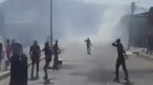 Israeli Security Forces Fire Tear Gas at Palestinian Protesters Near Nablus