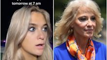 Claudia Conway is so furious that her mother, Kellyanne, is to speak at the RNC that she's 'officially pushing for emancipation' from her family