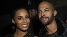 Rochelle Humes rescued by husband Marvin after tyre blows on the school run