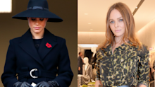 Stella McCartney called 'disrespectful' for promoting Meghan Markle's Remembrance Sunday coat: 'People died'