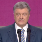 Ukraine's President Delivers Concession Speech After Comedian Wins Election