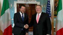 """Matteo Salvini """"partage"""" les préoccupations des Etats-Unis"""