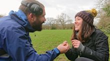 Man proposes to girlfriend by tasking her with an engagement ring treasure hunt