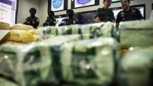 Thai police make 'largest ever' crystal meth seizure