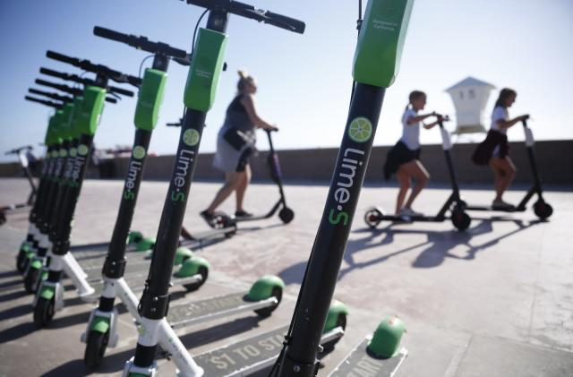 Lime expands scooter reservations to the US