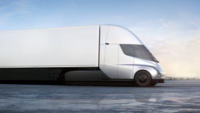J.B. Hunt, Wal-Mart order Tesla's electric truck