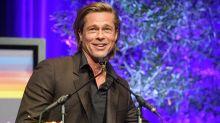 Brad Pitt Jokes About Being Single & Prince Harry as He Misses BAFTAs, Margot Robbie Reads His Speech