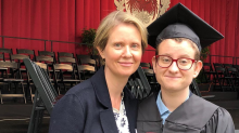 Cynthia Nixon posts touching tribute to her son for #TransDayofAction: 'I salute him'