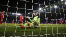 Vardy hits two as Leicester stun Liverpool in first game after Ranieri