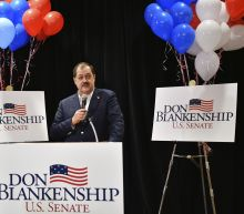 The Latest: Official said Blankenship can't run for Senate