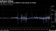 BlackRock Move Sends Record $1.4 Billion to Inflation-Hedged ETF