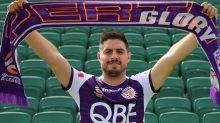 Former Melbourne City striker Bruno Fornaroli signs for Perth Glory