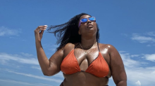 Bikini-clad Lizzo urges 'big girls' to be body-positive: 'We should be able to wear whatever the f*** we want'