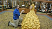 Boyfriend Pulls Off 'Beauty and the Beast' Proposal Complete With Belle's Yellow Gown