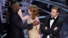 Watch the moment Emma Stone realises La La Land didn't win Best Picture at the 2017 Oscars