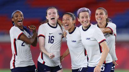 USWNT wins wild Olympic quarterfinal