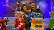 Grávida, Simone comemora aniversário de seis anos de Henry com festa em casa