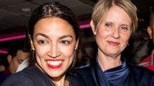 Alexandria Ocasio-Cortez pulled off a huge win in N.Y. — people think Cynthia Nixon is next