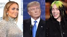 J.Lo, Billie Eilish among stars rejected from Trump's coronavirus ad for criticizing president