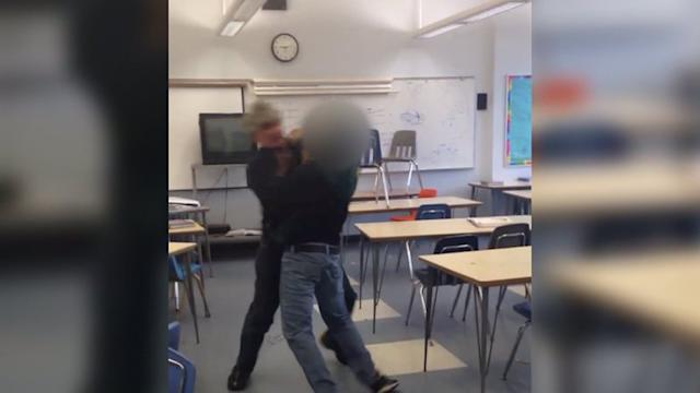 RAW: `Utterly Alarming` Fight Between Teacher, Student at Santa Monica H.S.