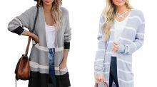 Shoppers Call This Color-Blocked Cardigan with 4,220 Five-Star Ratings 'Warm Soft Perfection'