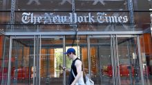 New York Times stock on track for 12-year high after earnings beat
