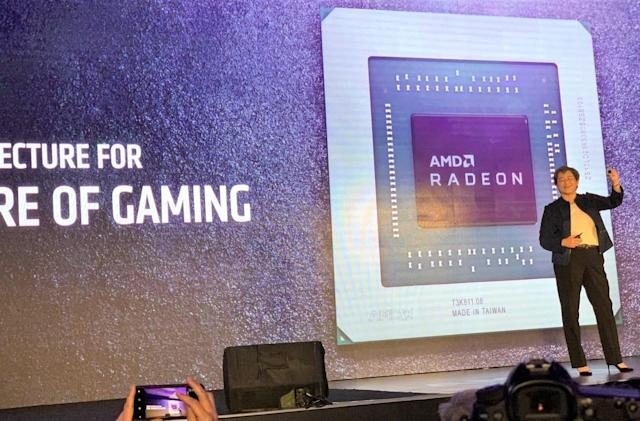 AMD's first Navi GPUs are the Radeon RX 5000-series