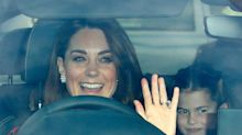 Kate Middleton was spotted on a nostalgic day trip with her children