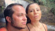 Thammy beija namorada e avisa: 'Em breve o fruto desse amor'