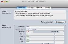 VM2Go - manage Parallels machines, run them from an iPod and more
