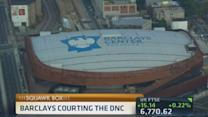 Barclays courting the DNC