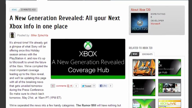 The Recap - 05/20/13 'Next Xbox, PlayStation 4 tease and just a hint of New Smash Bros'