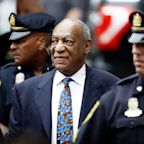 Facing Shouts and Profanity, Bill Cosby Arrives to His Sentencing for 2004 Sex Assault