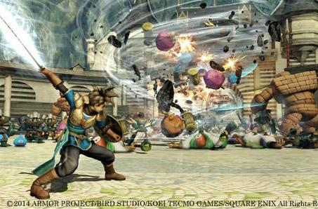 A Dragon Quest Heroes gameplay video draws near!