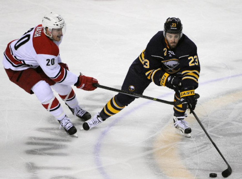 AP sources: Sabres to buy out F Leino's contract