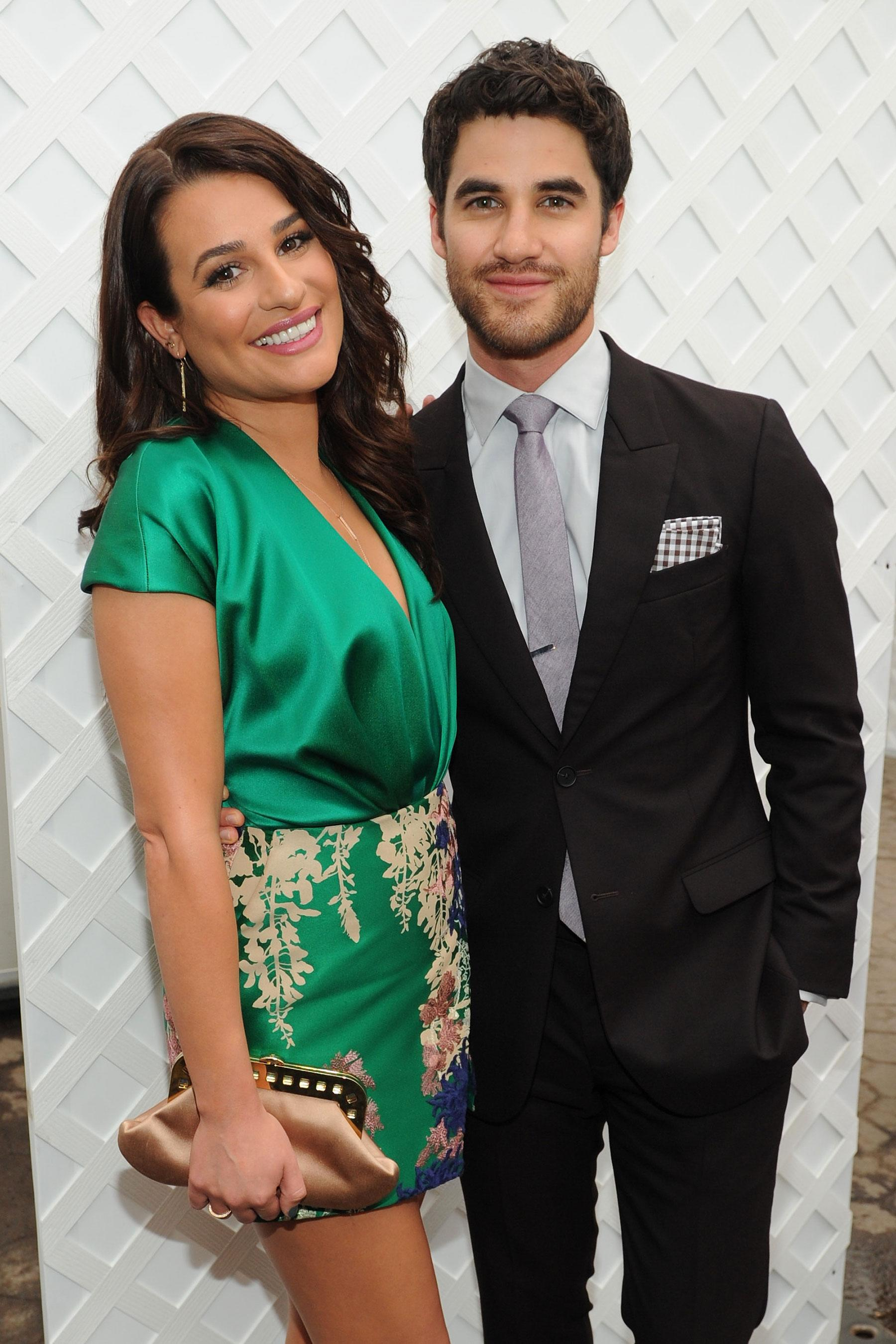 Lea Michele Says It's 'Really Special' Planning a Wedding at the Same Time as Darren Criss